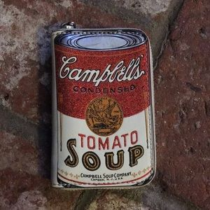 Coach  Campbell's Soup zip around wallet